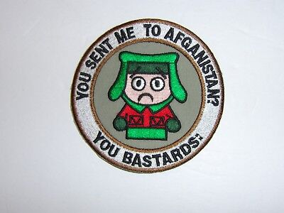 a0223 You sent me to Afghanistan patch War on Terror IR18A