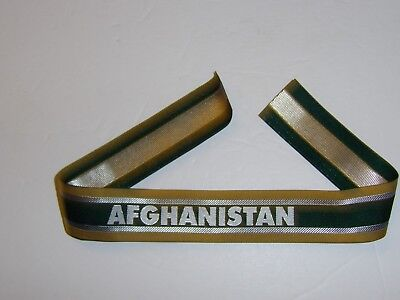 b3158  Afghanistan woven cuff title US Special Operations Forces SF DAK IR18A