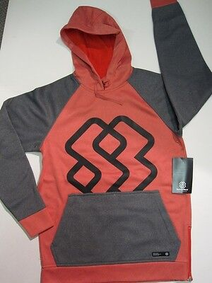 SPECIAL BLEND snowboard 2014 CONTRA BONDED FLEECE HOODIE r/b LRG ~NEW w/tags~!