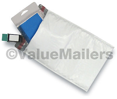 """500 #0 6x10 Poly Bubble Mailers Envelopes Shipping Bags CD DVD VMB 6.5"""" Wide"""