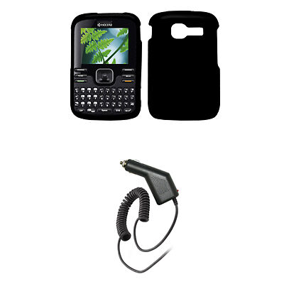 for Kyocera Torino S2300 Case Black+Car Charger+Tool