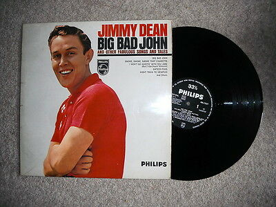 JIMMY DEAN BIG BAD JOHN and other fabulous songs and tales 1961 1st UK  PRESS LP