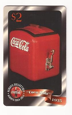 "Coca Cola Coke Sprint Phone Card 1996 $2 ""1935"" Never Used #40"