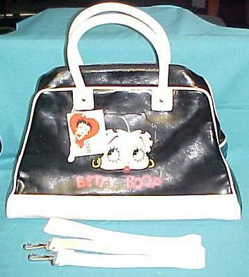 BETTY BOOP Zipper TOTE BAG with INSIDE ORGANIZER and TAGS