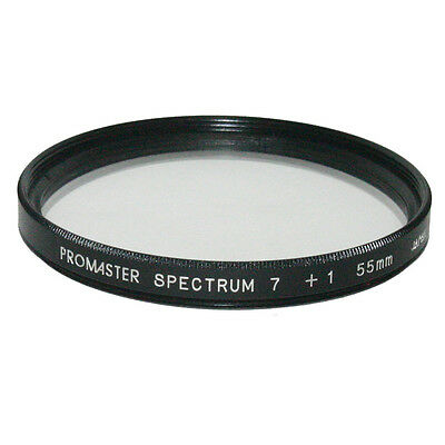 Promaster Spectrum 7 +1 Close up Macro  55mm Lens Filter Made in Japan 6204039