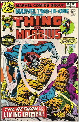 The Thing Power Man Marvel Two-In-One #13 Comic Book Cover 2 X 3 Fridge Magnet
