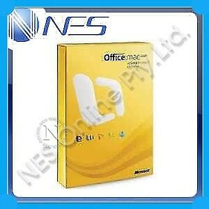 Microsoft Office Home & Student Edition for Mac (suits install 3x machines) 2008