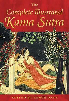 Complete Illustrated Kama Sutra by Mallanaga Vatsyayana Hardcover Book (English)