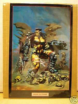 Simon Bisley: High Octane (metal poster, USA)
