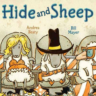 Hide and Sheep by Andrea Beaty Hardcover Book (English)