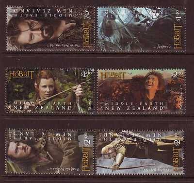 New Zealand 2013 The Hobbit Set Of 6  Unmounted Mint, Mnh