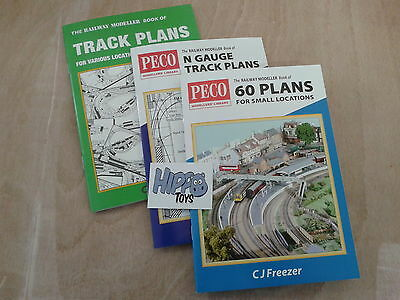 Railway Modeller Books of Model Railway Track Plans OO and N Gauge Choose 1 New