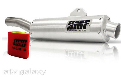 HMF Performance Slip On Exhaust + Uni Filter Kawasaki Brute Force 750 05 06 07