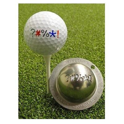 Tin Cup Golf Ball Marking System (Out of Bounds)