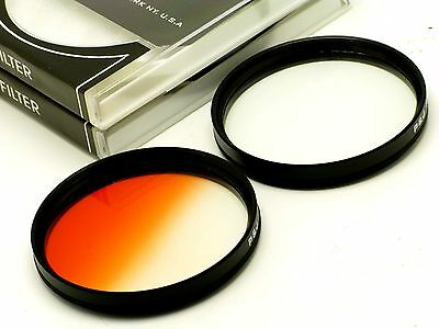 82mm Graduated Orange + 4 Point Star Filter Fit Nikon Canon Tamron Sigma Tokina