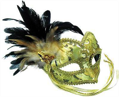 Cleopatra Deluxe Gold Eye Mask Egyptian Masked Masquerade Ball Fancy Dress
