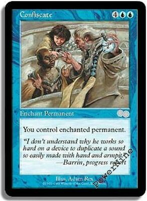 English 8th Edition MTG Magic 4x Confiscate NM-Mint