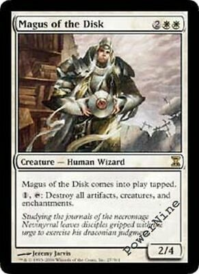 1 Magus of the Disk - White Time Spiral Mtg Magic Rare 1x x1