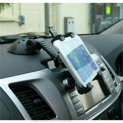 "Multisurface Car Dash Desk Window Tablet Holder Mount for Galaxy TAB 3 7"" & 8"""