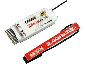 AS035 - X8-R4 H Assan 2.4GHz 4Ch Receiver