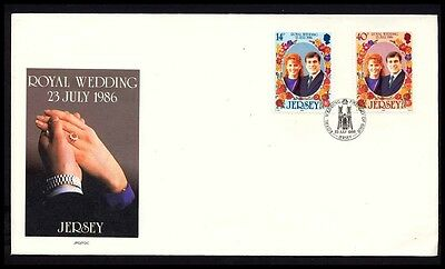1988 JERSEY FERGIE ROYAL WEDDING ROYALTY COVER S41