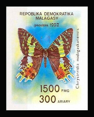 1992 MALAGASY BUTTERFLY MUH STAMP S41