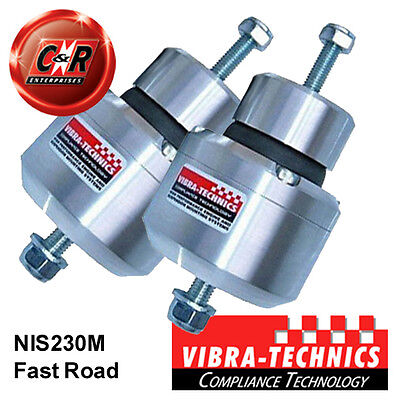 2 x Nissan 350Z Vibra Technics Engine Mounts - Fast Road NIS230M