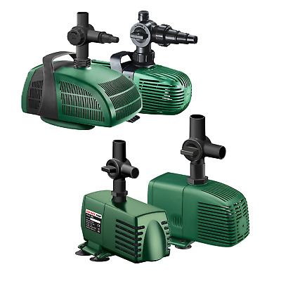 Fish Mate Pond Filter Pumps -All Models- Water Fountain And Waterfall Garden Koi