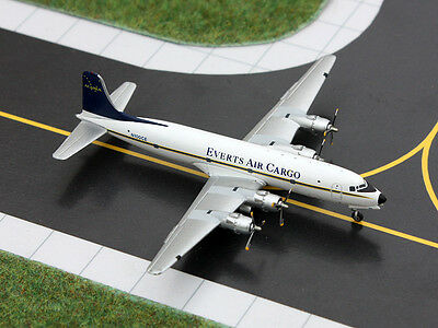 Gemini Jets GJVTS1151 Everts Air Cargo Douglas DC-6 1:400 Scale REG#N100CE New