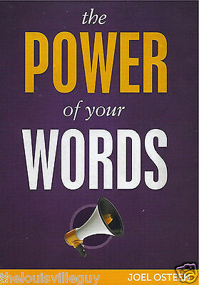 "Joel Osteen  - ""THE Power of Your Words"" - 3 CDs + Bonus DVD - New and sealed!"