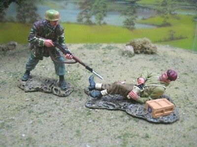 Thomas Gunn Ww2 German Normandy Fj006A Fallschirmjager Cold Steel Mib