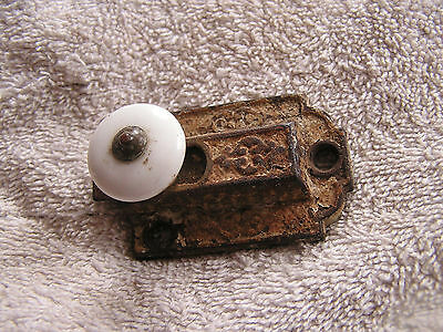 Antique Ornate Victorian Lock Patented Feb 7, 1871 Latch