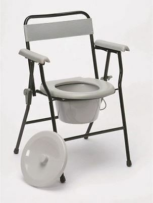Ultra Lightweight Folding Portable Commode