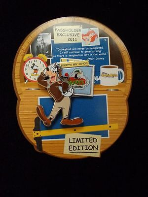 Disney Pin DLR California Adventure Expansion Annual Passholder Goofy Limited