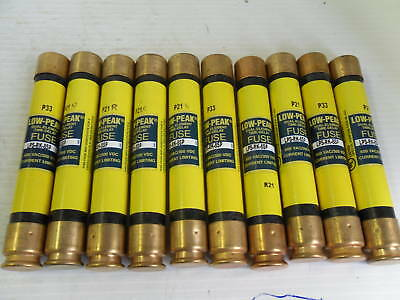 New Lot Bussmann LPS-RK-8SP 8 Amp Fuses Low-Peak Class RK1 600 Volts