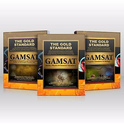 Gold Standard GAMSAT Preparation Book with Full-length Practice Test [hardcover]