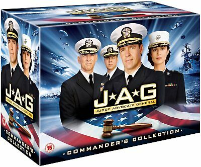 JAG 1-10 (Judge Advocate General) (1995-2005) COMPLETE TV Series Reg2 DVD not US