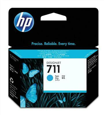 HP 711 (Volume: 29ml) Cyan Ink Cartridge