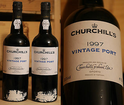 1997er Churchill's Vintage Port *****