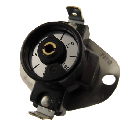 3F05-2 Adjustable Fan Switch SPST 140-180 Therm O Disc 74T12-310709
