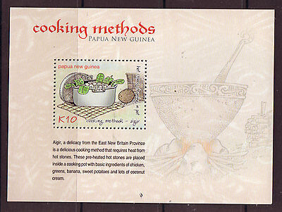 Papua New Guinea 2013 Traditional Cooking Methods Unmounted Mint, Mnh