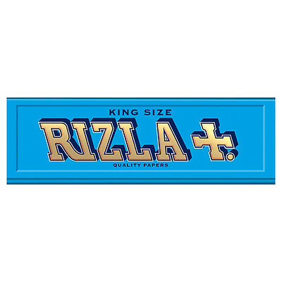 Rizla King Size Medium Weight Blue 32 Quality Cigarette Rolling Papers