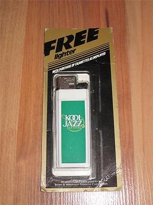 Vintage KOOL cigarettes  KOOL JAZZ Scripto Advertising Lighter - Sealed