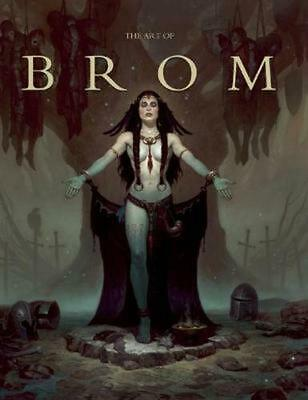 The Art of Brom by Brom Brom (English) Hardcover Book