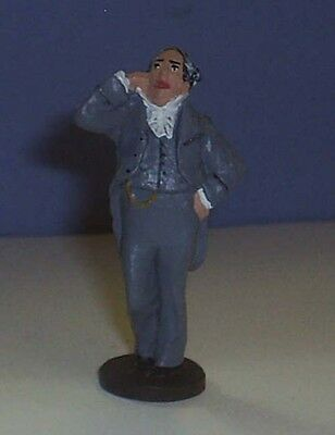 TOY SOLDIERS VICTORIAN CHARLES DICKENS A CHRISTMAS CAROL THE RICH BANKER MAN