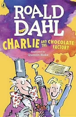 Charlie and the Chocolate Factory by Roald Dahl (English) Paperback Book Free Sh