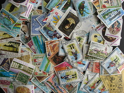Scrap pile of 135 ST LUCIA! Duplication,mixed condition,what lurks here?