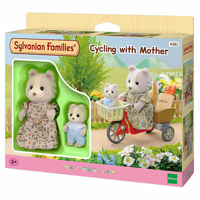 SYLVANIAN Families Cycling with Mother Figures 4281