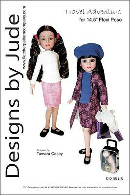 In the Game Doll Clothes Sewing Pattern for Edmund /& Harry Potter Tonner