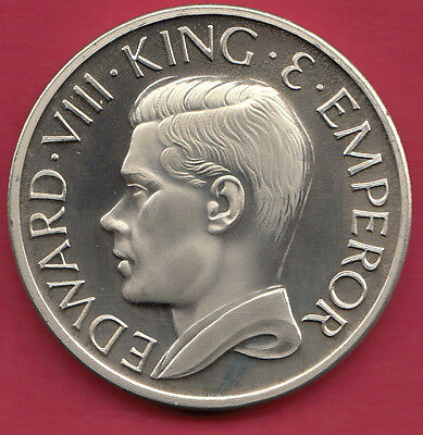 1936 Britain King Edward VIII Abdicated Pattern Crown Size Coin - Uncirculated